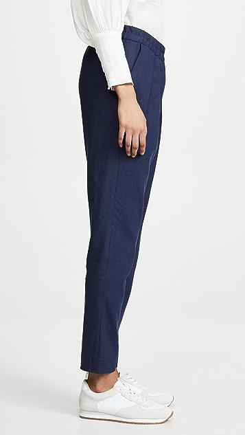 Maison Kitsune Jena Linen Casual Pants