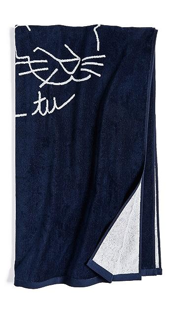 Maison Kitsune Ancora Beach Towel