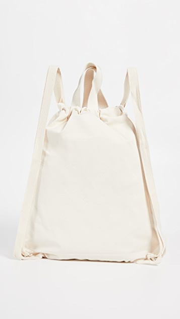 Maison Kitsune Resting Fox Tote Backpack
