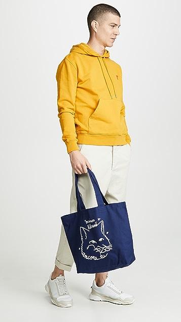 Maison Kitsune Ancora Tote Bag