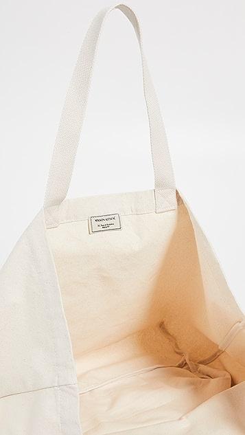 Maison Kitsune XXL Italia Tote Bag