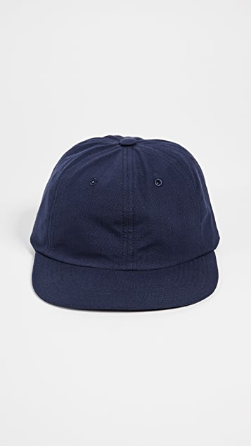 Maison Kitsune Kissing Foxes Baseball Cap