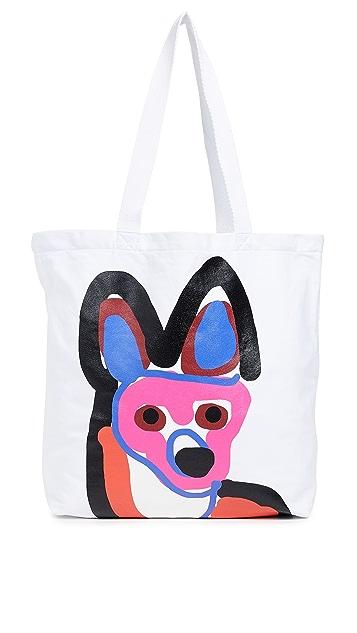 Maison Kitsune Acide Tote Bag
