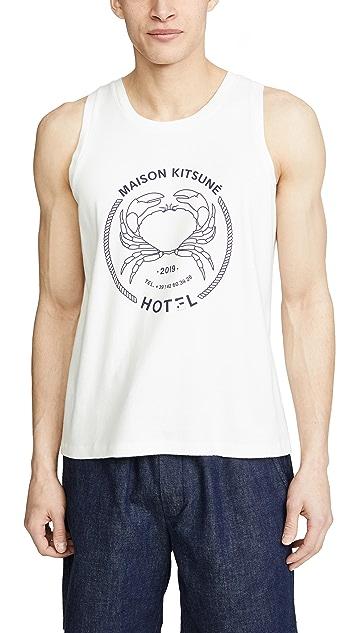 Maison Kitsune Hotel Maison Kitsune Tank Top
