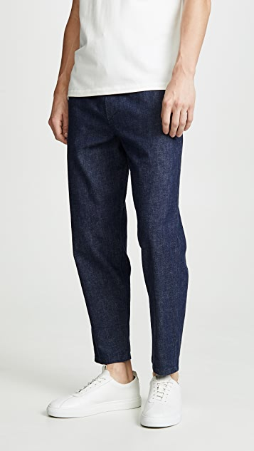 Maison Kitsune Denim City Pants