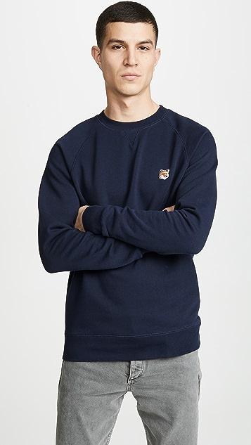 Maison Kitsune Sweatshirt Fox Head Patch