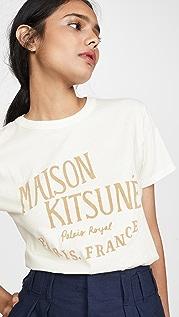 Maison Kitsune Tee Shirt Palais Royal