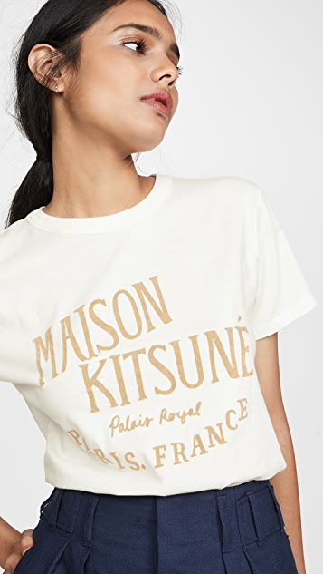 Maison Kitsune Palais Royal T 恤