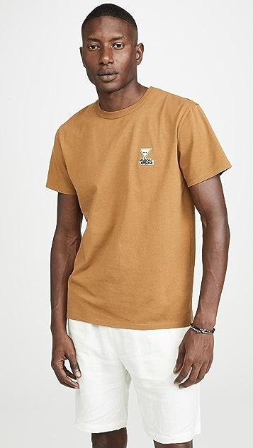 Maison Kitsune Smiley Fox Tee Shirt