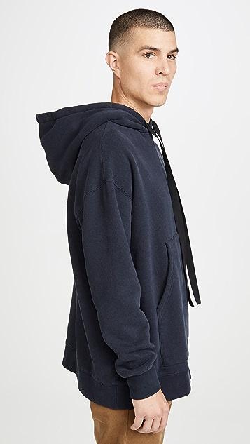 Maison Kitsune Long Sleeve Oversized Hoodie