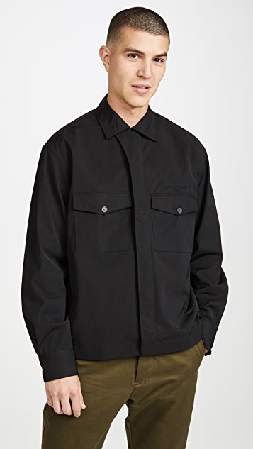 Maison Kitsune Long Sleeve Hidden Placket Shirt