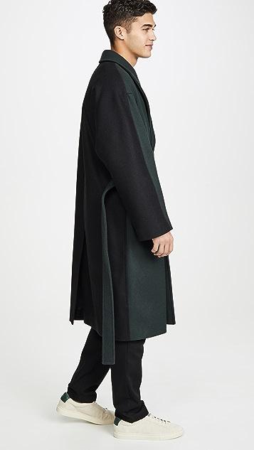 Maison Kitsune Wrap Coat