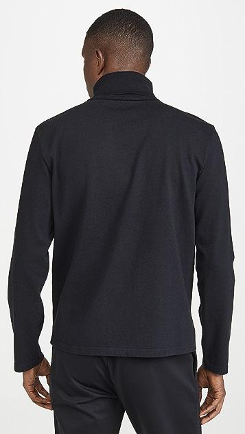 Maison Kitsune Long Sleeve Turtleneck