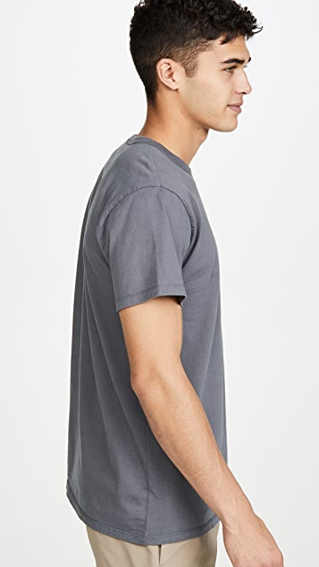 Maison Kitsune Short Sleeve T-Shirt with MK Play