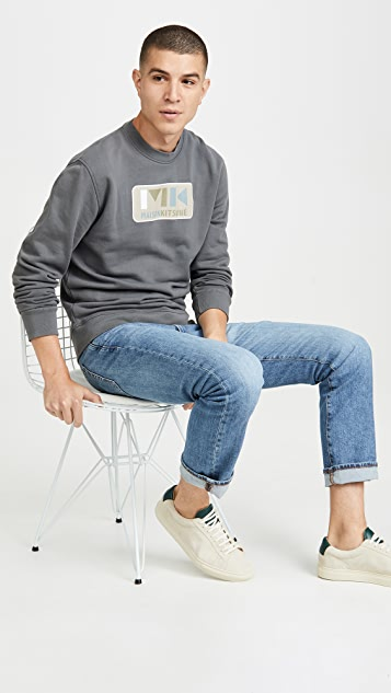 Maison Kitsune Long Sleeve Sweatshirt MK Play