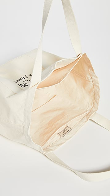 Maison Kitsune Palais Royal Shopping Tote Bag