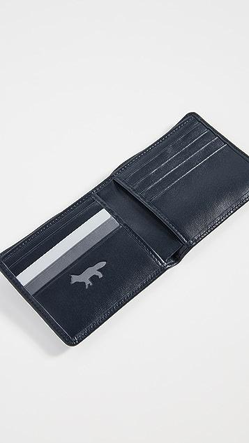 Maison Kitsune Colorblock Wallet
