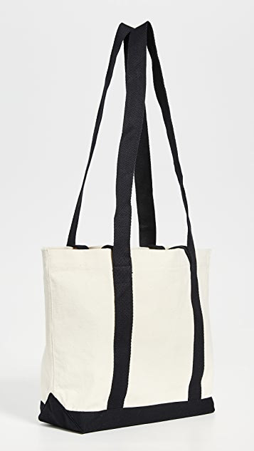 Maison Kitsune Smiley Fox Small Shopping Bag