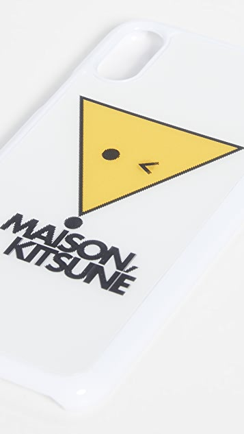 Maison Kitsune Hologran Smiley Fox iPhone X / XS Case