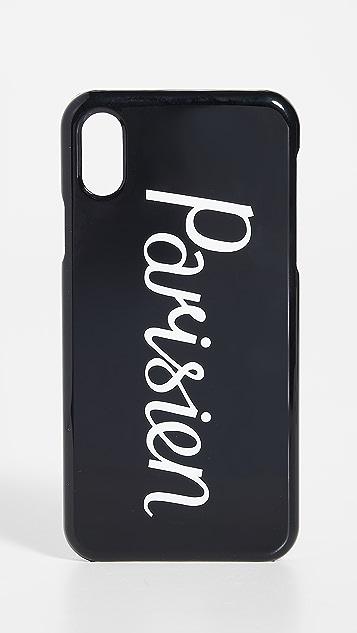 Maison Kitsune Parisien iPhone X / XS Case