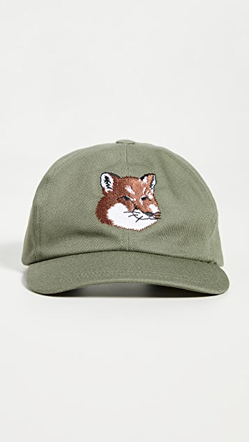 Maison Kitsune Fox Head Cap