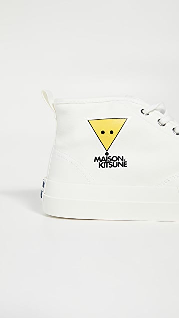 Maison Kitsune Kool Fox High Top Sneakers