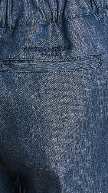 Maison Kitsune City Pants