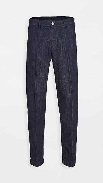 Maison Kitsune Carrot Fit Trousers