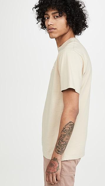 Maison Kitsune Embroidered Rainbow Fox T-Shirt