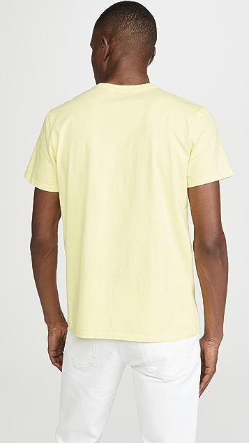 Maison Kitsune Small Fox Head Patch T-Shirt