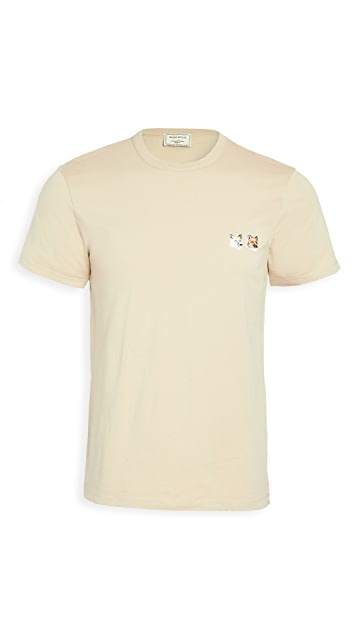 Maison Kitsune Double Fox Head T-Shirt