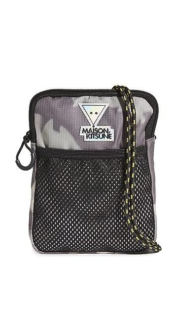 Maison Kitsune Ripstop Military Bag