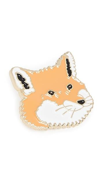 Maison Kitsune Fox Head Pins