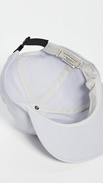 Maison Kitsune Rainbow Fox Embroidered Baseball Cap
