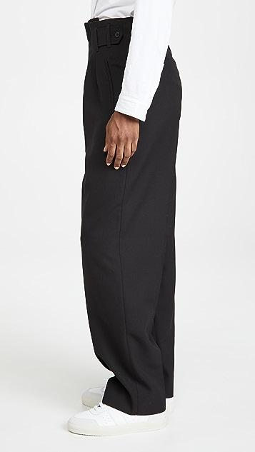 Maison Kitsune Pleated Pants