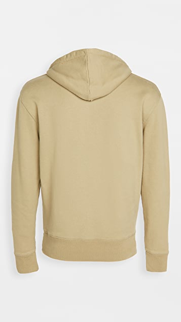Maison Kitsune Pullover Hoodie with Fox Head Patch