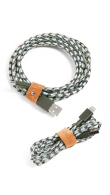 Maison Kitsune x Native Union Belt USB-A To Lightning Cable 1.2m