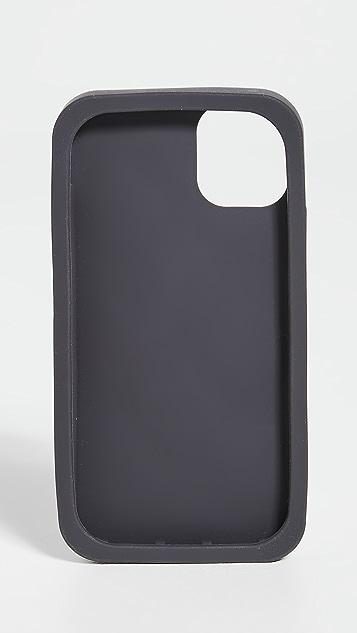 Maison Kitsune iPhone 11 Case 3D All Over Fox Head