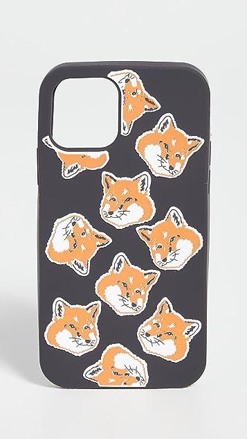 Maison Kitsune iPhone 11 Pro Case 3d Allover Fox Head