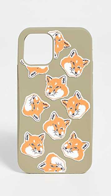 Maison Kitsune iPhone 11 Pro Case 3D Allover Fox Head