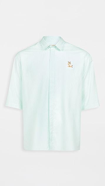 Maison Kitsune Short Sleeves Shirt