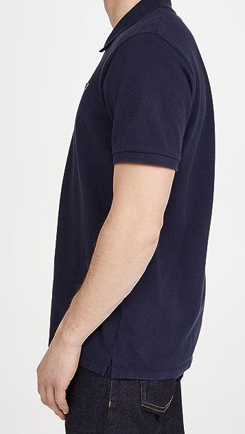 Maison Kitsune Navy Fox Patch Classic Polo Shirt