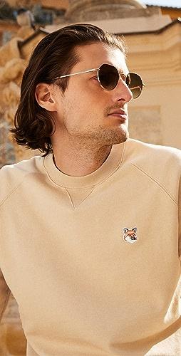 Maison Kitsune - Fox Head Patch Classic Sweatshirt