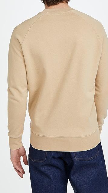 Maison Kitsune Fox Head Patch Classic Sweatshirt