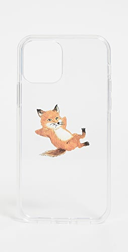 Maison Kitsune - Chillax Fox Transparent iPhone 12 Pro Case