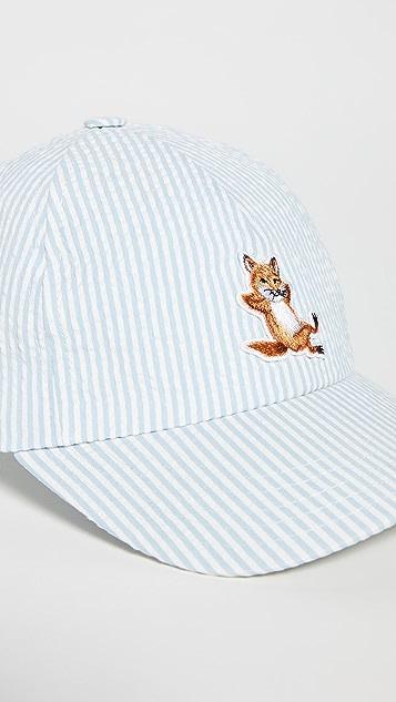 Maison Kitsune Chillax Fox  6p Cap
