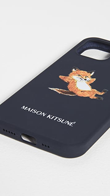 Maison Kitsune Chillax Fox iPhone 12 Pro Case