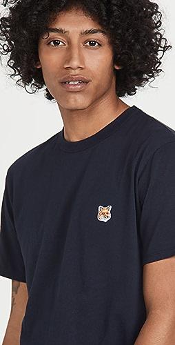 Maison Kitsune - Fox Head Patch Classic T-Shirt