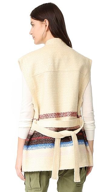 Scotch & Soda/Maison Scotch Embroidered Vest