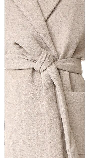 Scotch & Soda/Maison Scotch Wrap Over Coat
